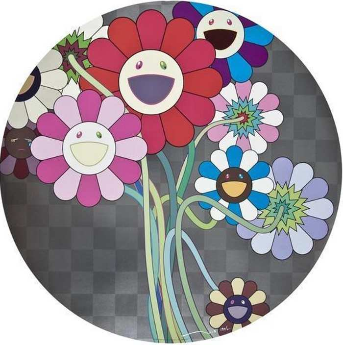 Takashi Murakami-Warhol Silver-2010