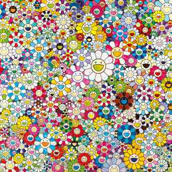 Takashi Murakami-When I Close My Eyes, I See Shangri-la-2012