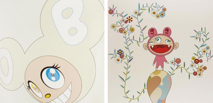 Takashi Murakami-White DOB, Kiki with Moss-2003
