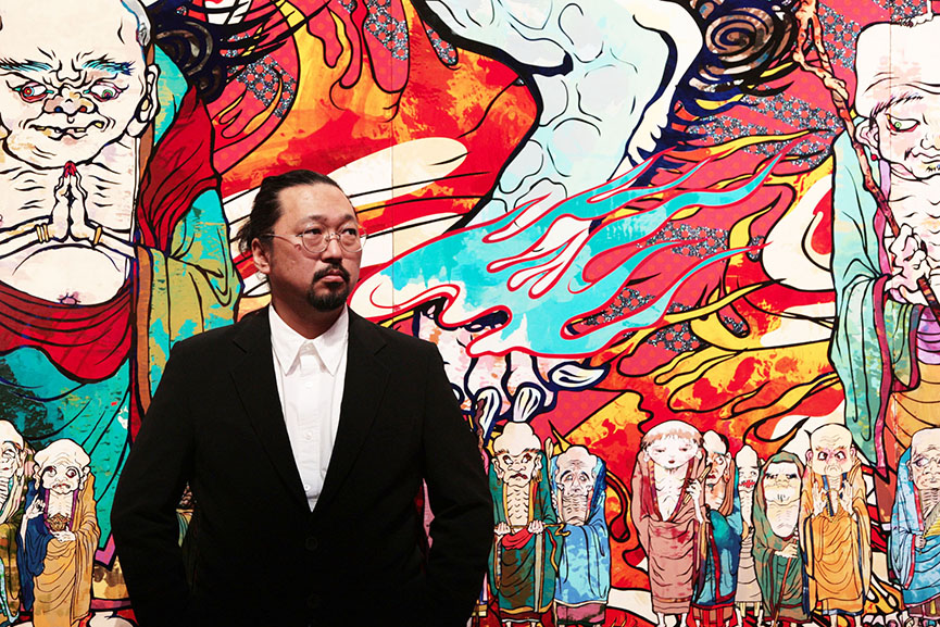 takashi murakami contact work site culture