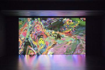 Takeshi Murata's Infinite Doors at Empty Gallery, Hong Kong