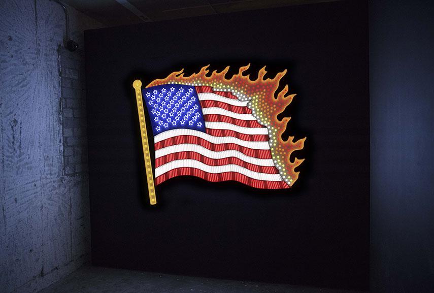 Takeshi Murata - Flag, 2017