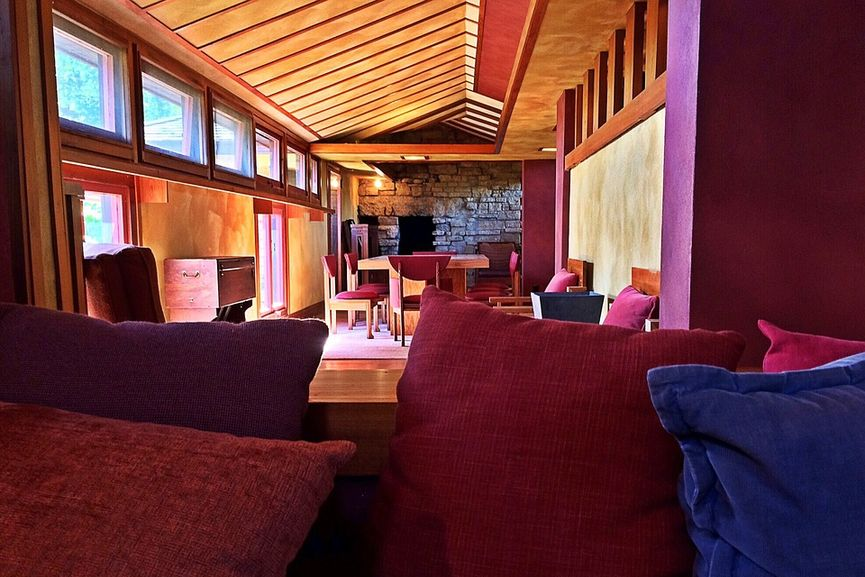Frank Lloyd Wright - Taliesin West in Scottsdale, Arizona, Interior