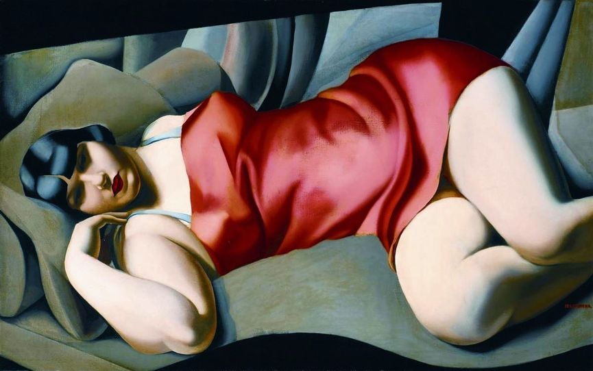 Who Are The Most Successful Female Artists in Auction?, Tamara de Lempicka painting