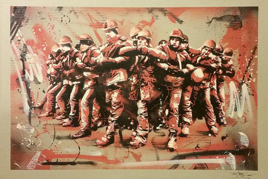 graffiti art exhibition 2015