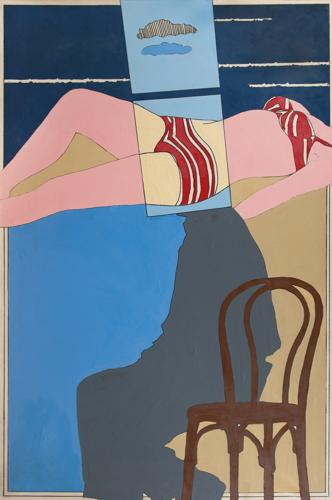 Tano Festa-Al Livello Del Mare. Studio Numero 2-1965