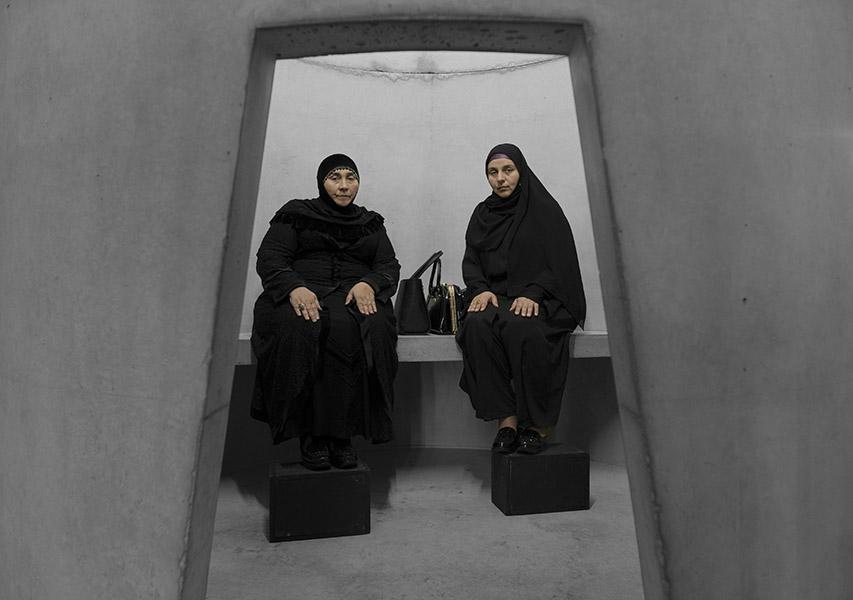 Taryn Simon - Haji Rahila Jafarova and Lala Ismayilova, Yezidi performers from Azerbaijan, An Occupation of Loss, 2016