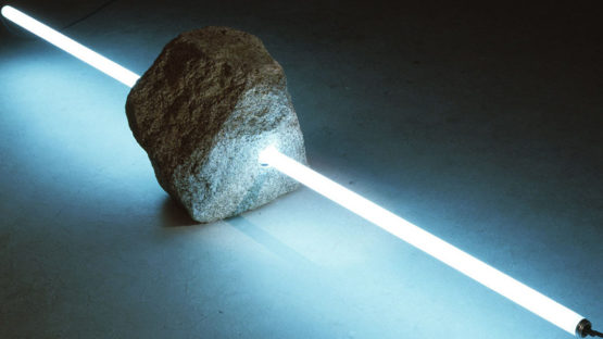 Tatsuo Kawaguchi - Stone and Light, 1989, Courtesy of Simon Lee