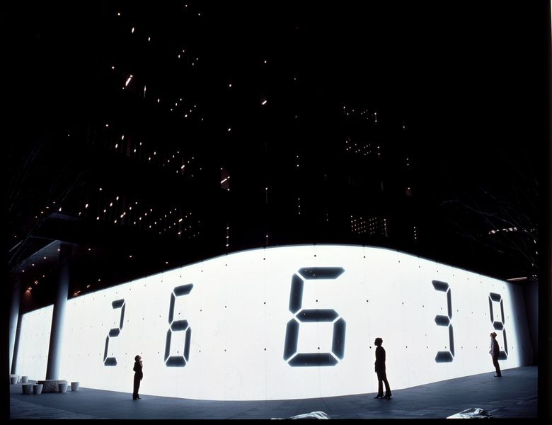 gallery contact news group 2014 Tatsuo Miyajima exhibition gallery news group