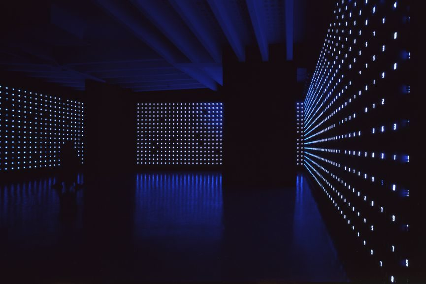 Tatsuo Miyajima exhibition