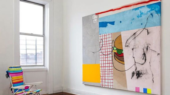 Taylor White - Donna Talks Imperial, installation view