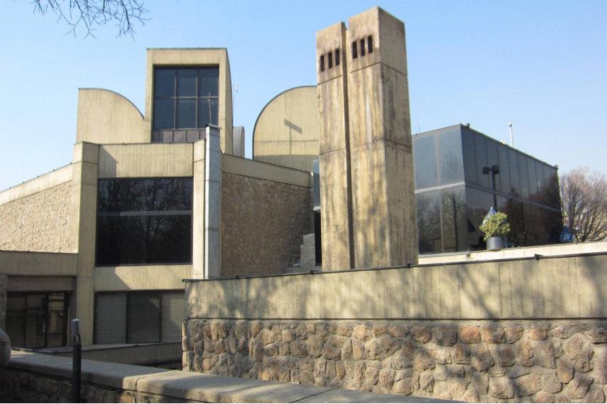 Tehran Museum of Contemporary Art - Image via Appolo magazine com