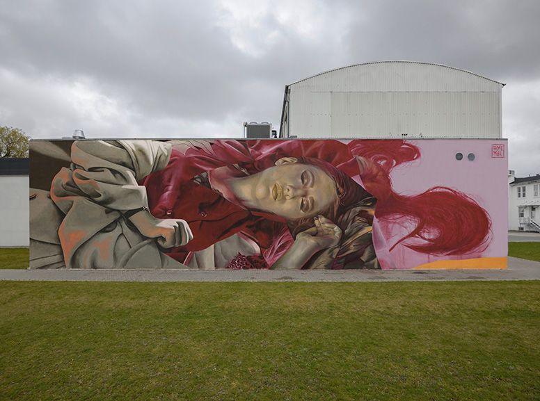 Telmo Miel, Exquisite Waste of Time for Out in the Open Mural Festival Aalborg 2019