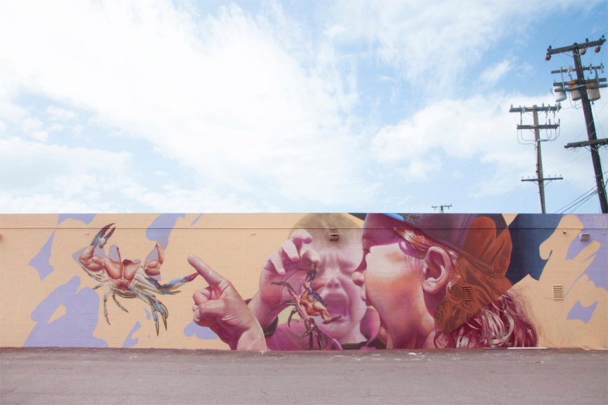 telmo miel latest mural