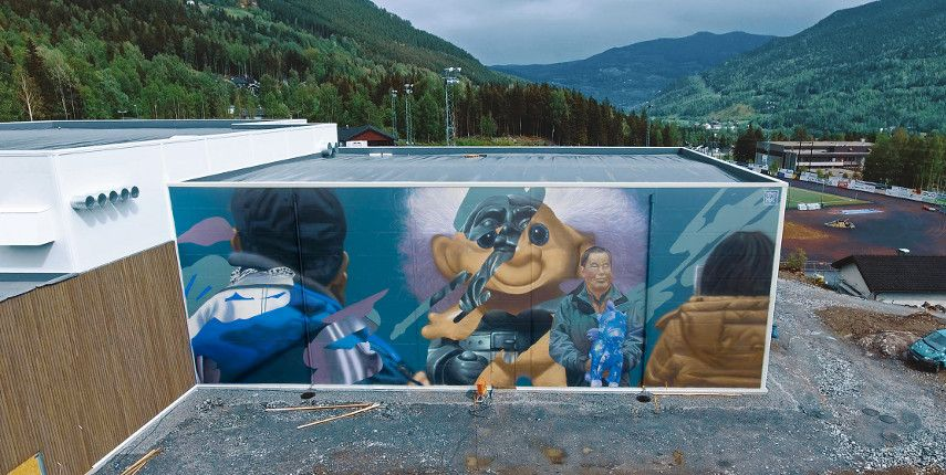 Telmo Miel - Trollstigen, Gol, Norway, 2017 - Image courtesy of the artist