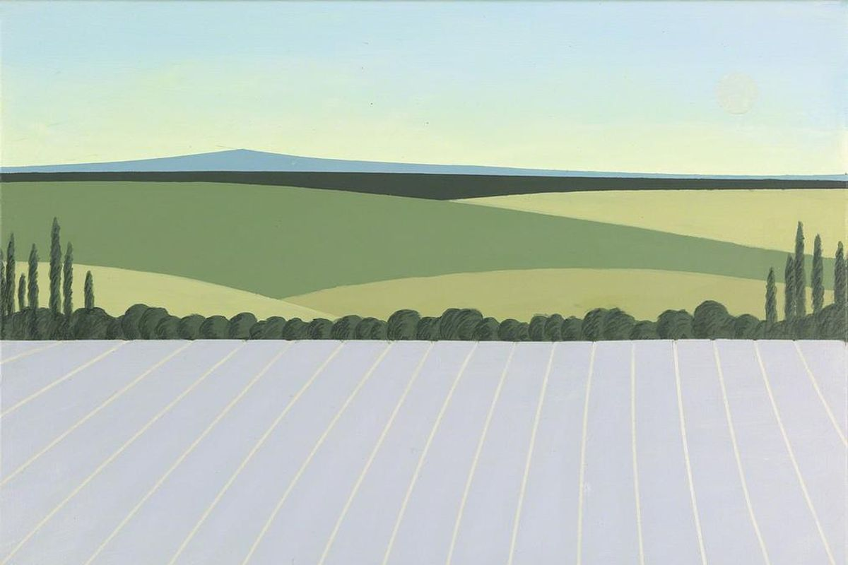 Terence Netter - Lavender at Dusk (detail), 2015