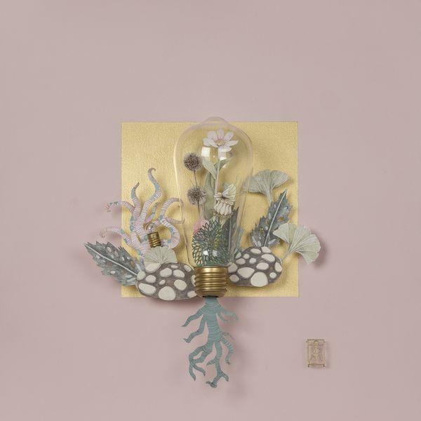 Teresa Currea - Enclosed Garden, 2017; dallas art fair will take place in april in dallas