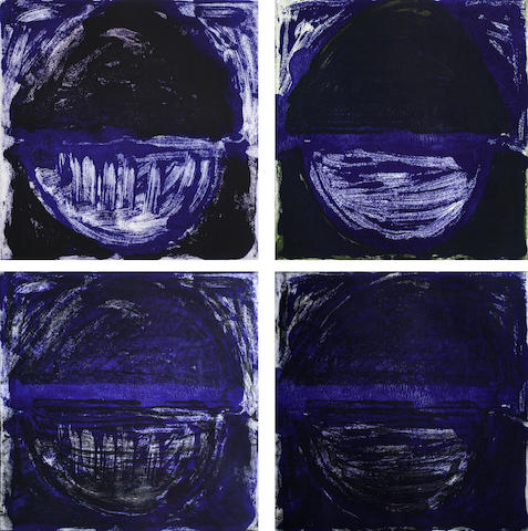 Terry Frost-Madron Blue I - IV-1997