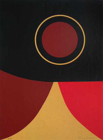 Terry Frost-Red Ochre Black-1992