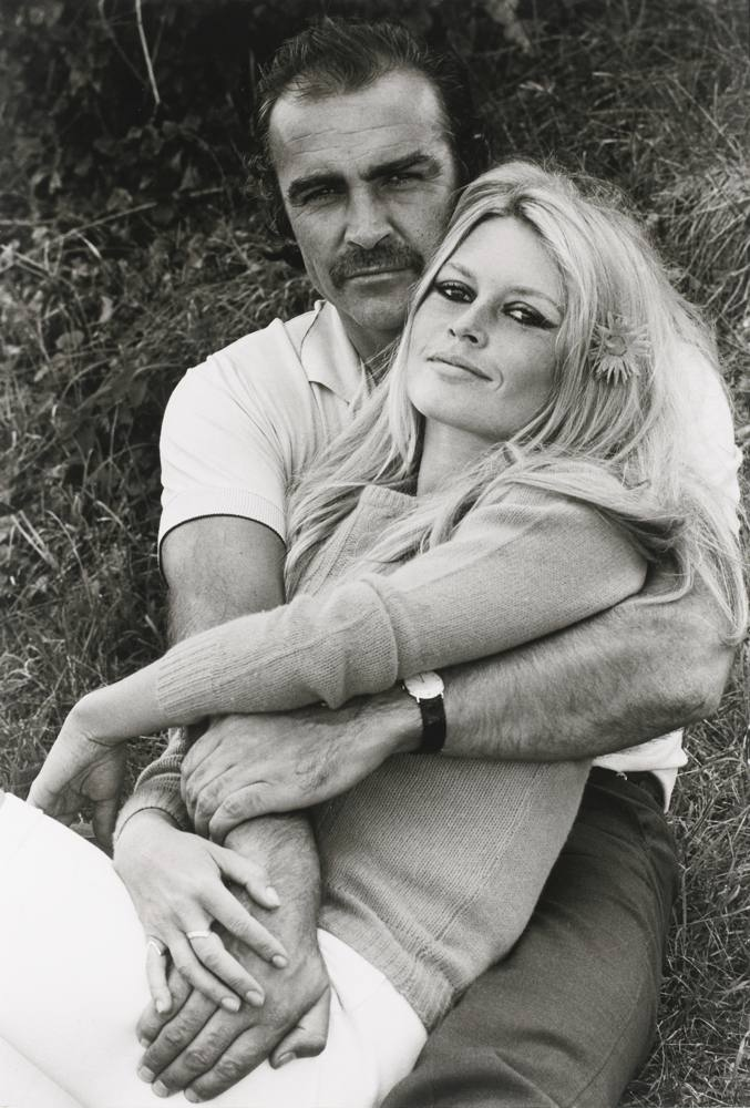 Terry O'Neill-Sean Connery And Brigitte Bardot, France-1968