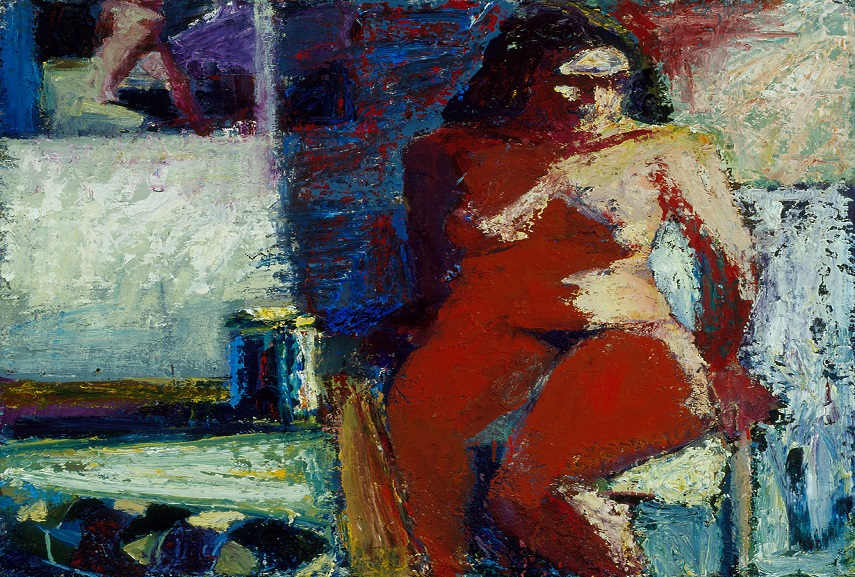 Terry St. John - Woman with Sandals