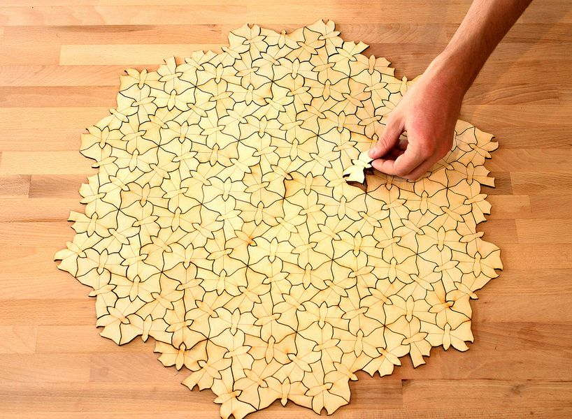 Tessellations used in puzzles