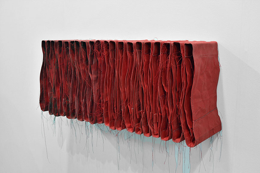 Simon Callery - Wallspine, 2015 with Fold Gallery