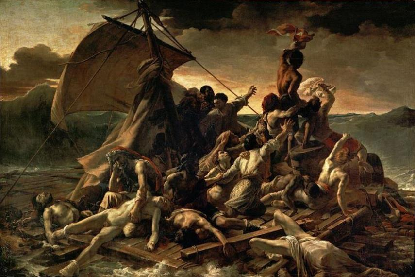 Théodore Géricault - The Raft of the Medusa, 1818-1819 can be an example of political art