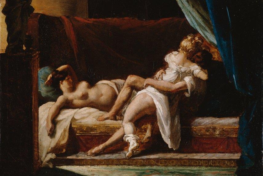 Théodore Jean Géricault - Three Lovers - Image via wikimediaorg