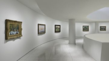 Thannhauser Collection Installation view_