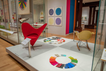 Saturated: The Allure and Science of Color, Exhibition Views at Cooper Hewitt: Photos by Matt Flynn © Smithsonian Institution
