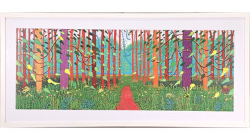 The Arrival of Spring in Woldgate, East Yorkshire David Hockney