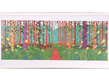 The Arrival of Spring in Woldgate, East Yorkshire David Hockney