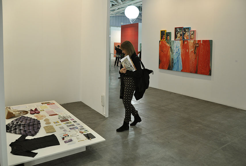 The Artissima 2015 program was divided into two gallery sections