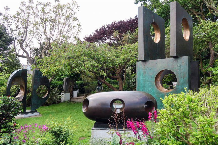 Visit permanent public exhibitions at The Barbara Hepworth Museum and Sculpture Garden