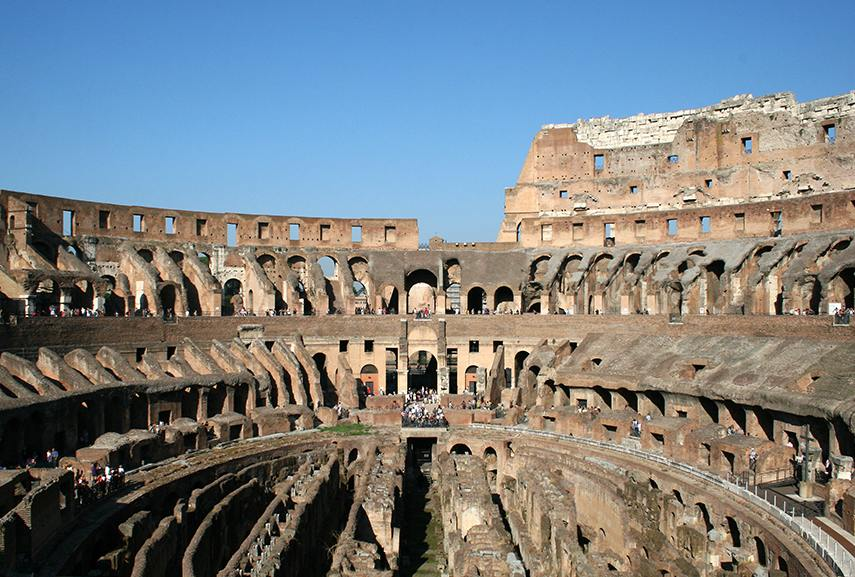 The romans are the main characters in the history of architecture, having had upgraded the arch