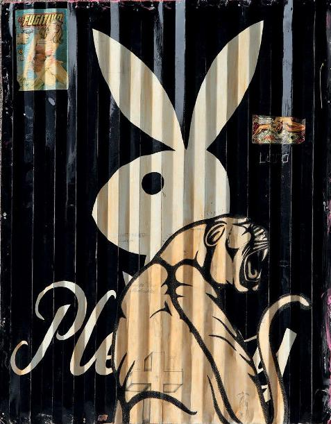 The Date Farmers - Playboy Bunny, 2007 (93 x 73 cm)