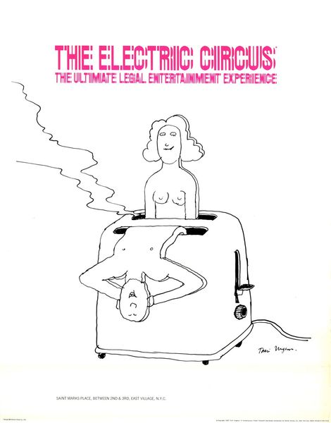 The Electric Circus by Tomi Ungerer, 1968