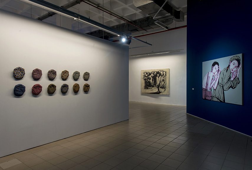 Artworks by Ragıp Basmazölmez, TUNCA and Liu Chin Hai