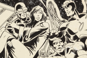 The Fate Of The Phoenix - Original Art From Marvel's X Men Expected to Sell for $ 150,000