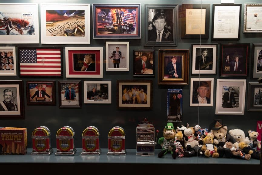 The Game: All Things Trump, a multi-media installation by Andres Serrano