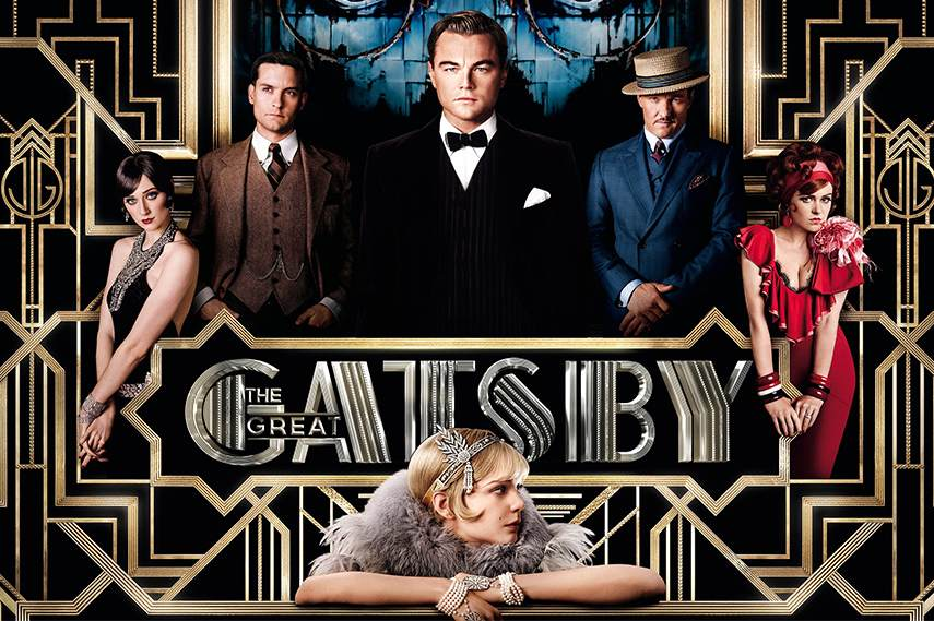 The Great Gatsby showcased Art Deco movement in its style and furniture design