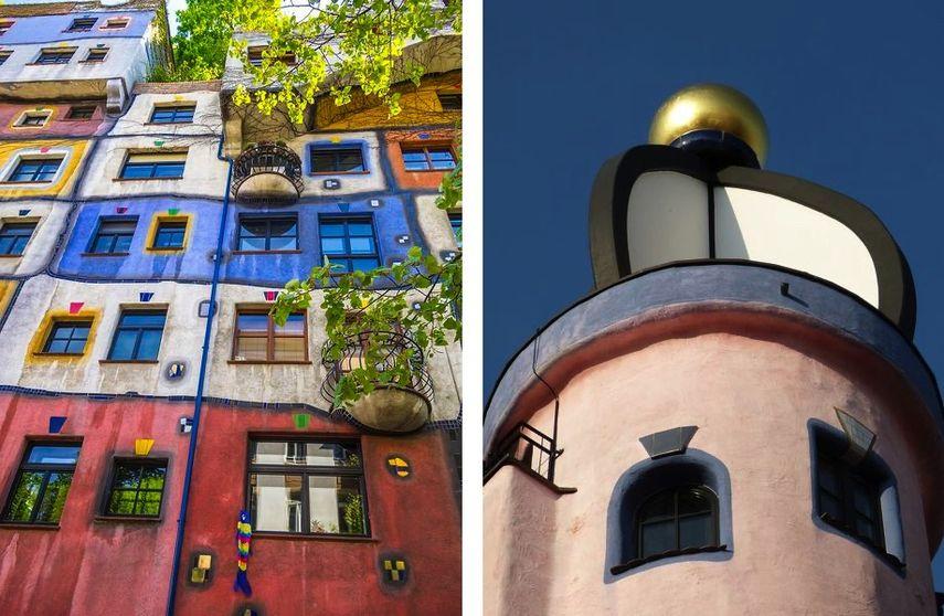 The Hundertwasser House details