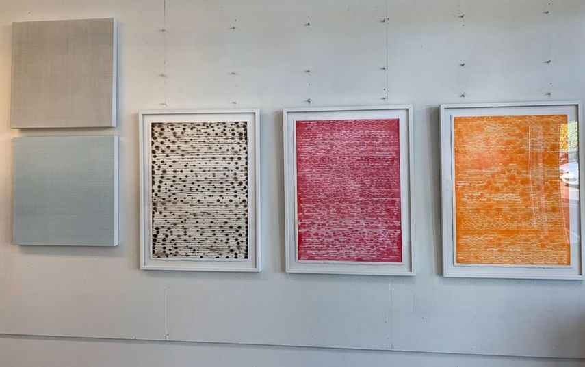 The Installation View of Works of Wisdom, , Lisa Espenmiller. The Hivery Mill Valley, Upstart Modern