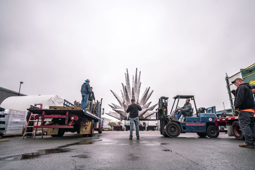 The Installation of Air Sea Land