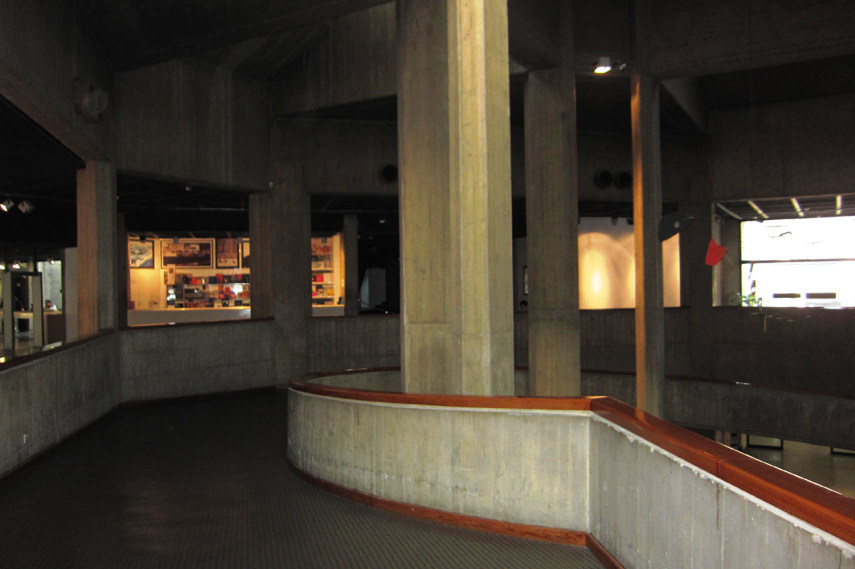 The Interior of Tehran Museum of Contemporary Art - Image via Commons Wikimedia org