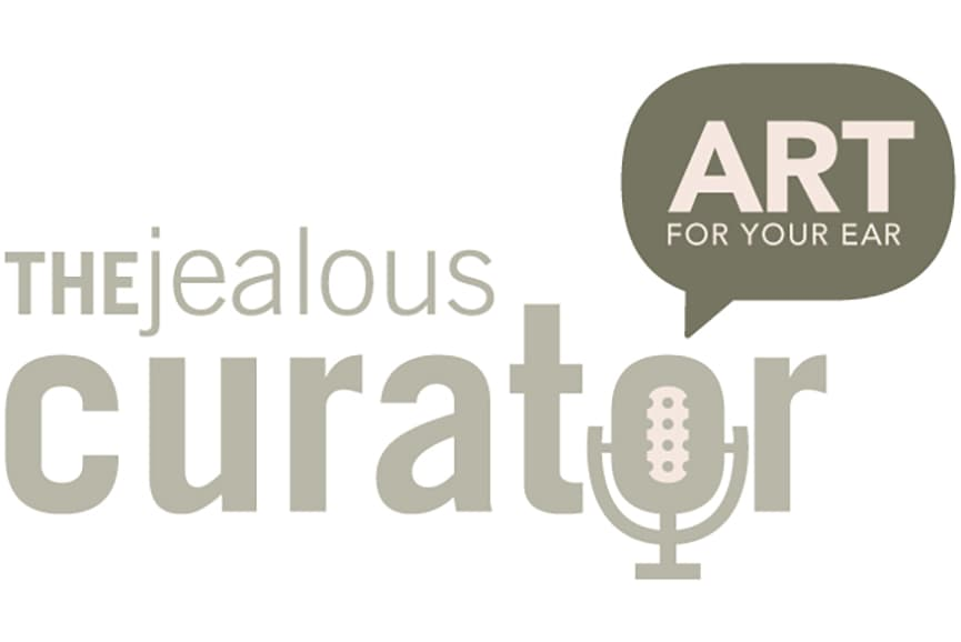 The Jealous Curator Podcast about an artist