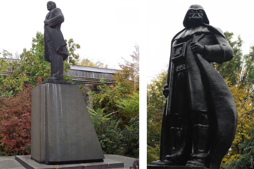 lenin darth vader statue twitter email ukraine vladimir world video tech twitter email ukraine vladimir world video tech email