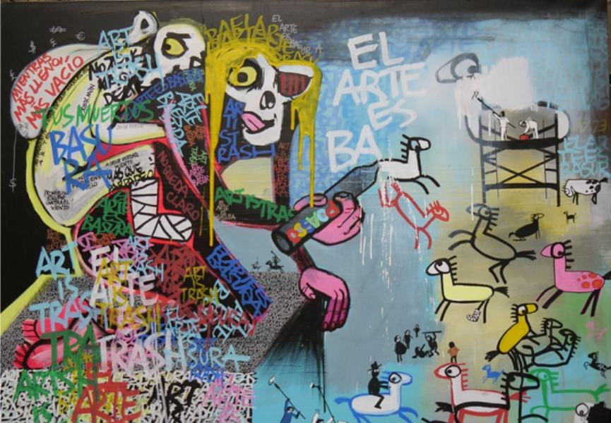 Unsanctioned Spanish Art in Dubai