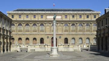 The Palais des Études in École nationale supérieure des Beaux-Arts in Paris